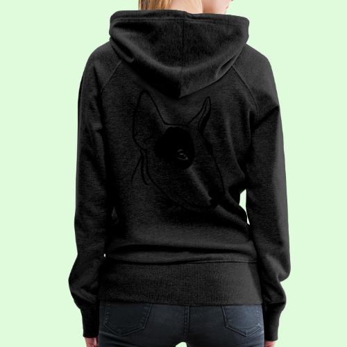 Bull Terrier - Sweat-shirt à capuche Premium pour femmes