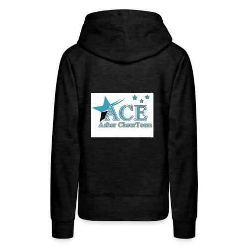 ace logoen bra kvalitet jpg - Premium hettegenser for kvinner