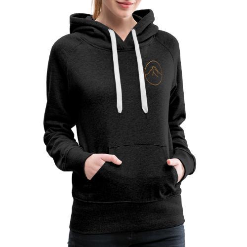 Goldener Berg - Frauen Premium Hoodie