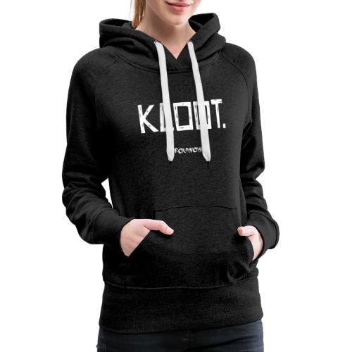 vrouwow - kloot - Vrouwen Premium hoodie