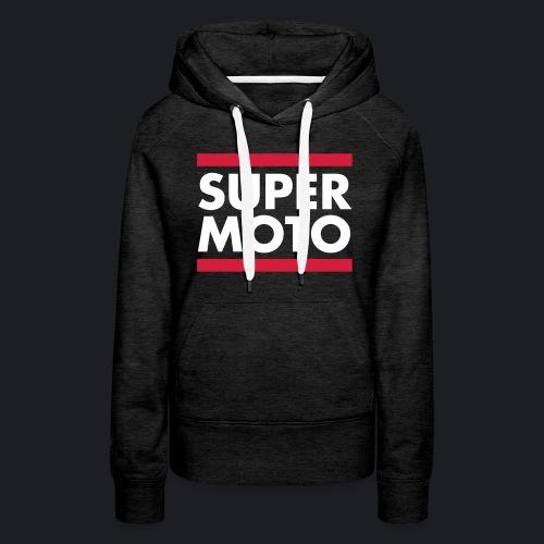 SUPERMOTO - Frauen Premium Hoodie