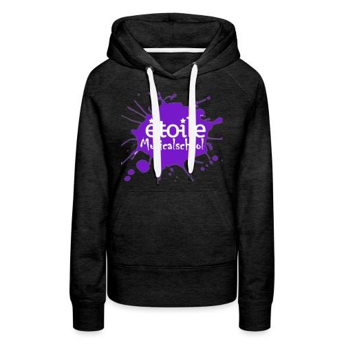 Tshirt 2 png - Vrouwen Premium hoodie