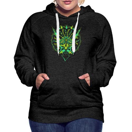 Evolve / Triceratops - Sweat-shirt à capuche Premium pour femmes