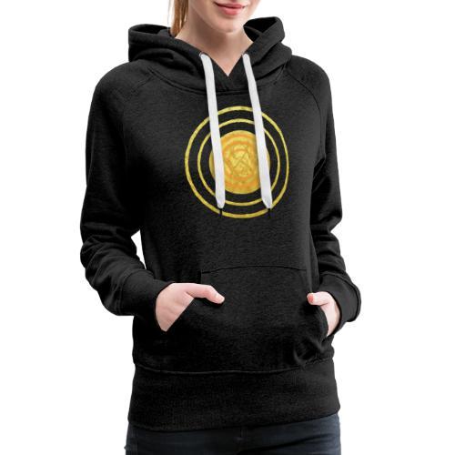 Glückssymbol Sonne - positive Schwingung - Spirale - Frauen Premium Hoodie
