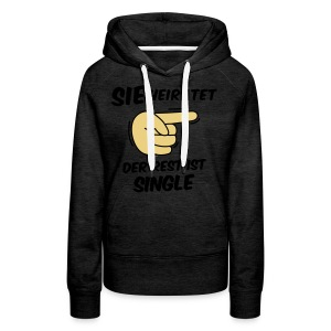 Sie heiratet, der Rest ist Single - JGA T-Shirt - Frauen Premium Hoodie