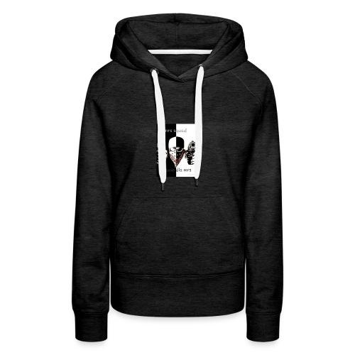 Draxxo - Sweat-shirt à capuche Premium pour femmes