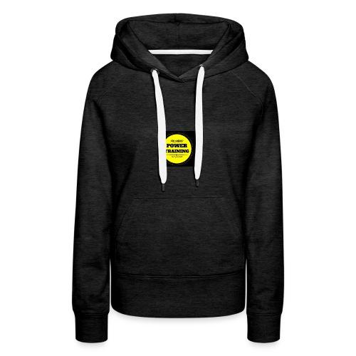 POWER TRAINING - Sweat-shirt à capuche Premium pour femmes