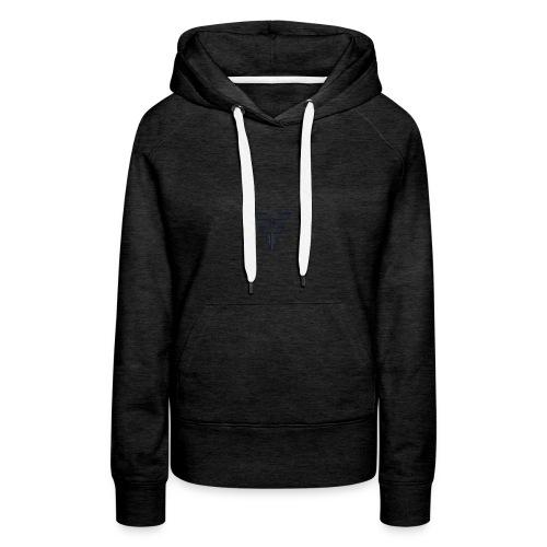 C'est un F ou un T ? - Sweat-shirt à capuche Premium pour femmes