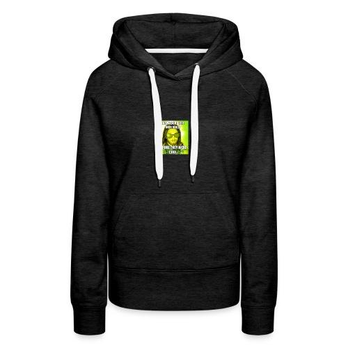 jesusmemesinterneteaste - Vrouwen Premium hoodie