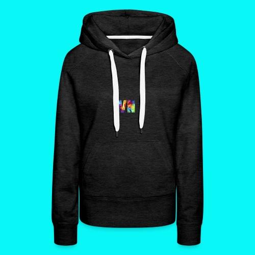 Velocity Networks Coloured Logo! - Women's Premium Hoodie
