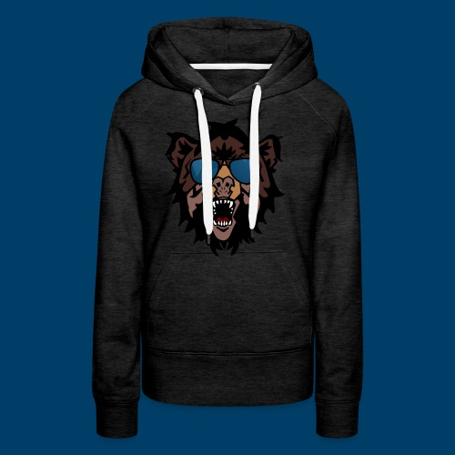 The Grizzly Beast - Women's Premium Hoodie