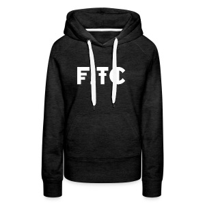 Fire In The City Logo - Women's Premium Hoodie