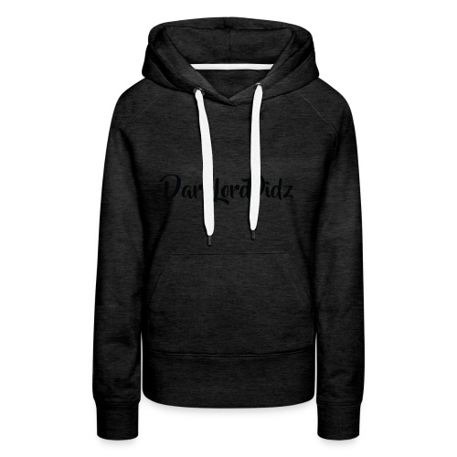 DarklordVidz Black Logo - Women's Premium Hoodie