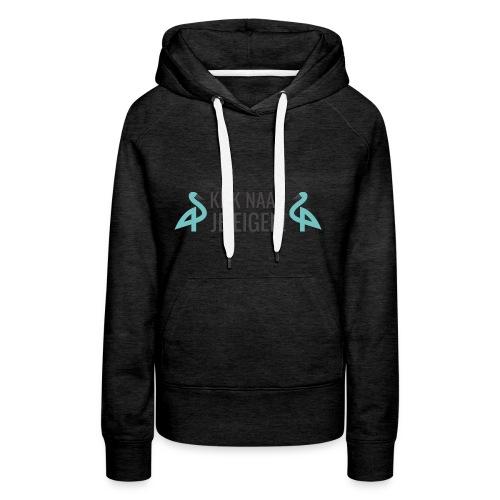 GennepNews - Kijk naar je eigen! - Vrouwen Premium hoodie