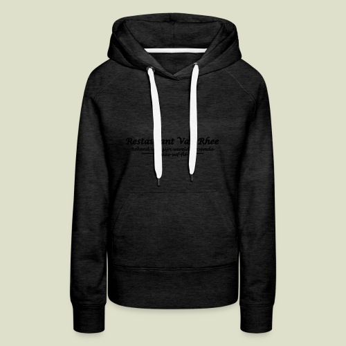 Van Rhee Kaas-suf-fle - Vrouwen Premium hoodie