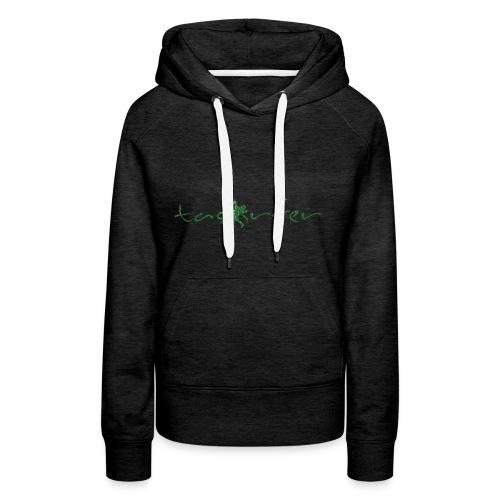 taosurfer_washed_darkgreen - Frauen Premium Hoodie