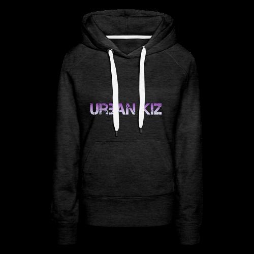 Urban Kiz - Original Style - Felpa con cappuccio premium da donna