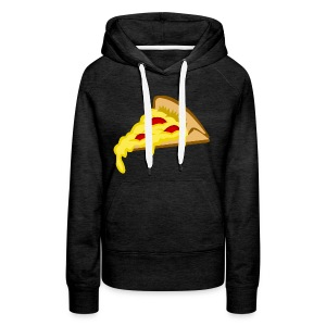 IF IT FITS MY SHIRT PIZZA? - Vrouwen Premium hoodie