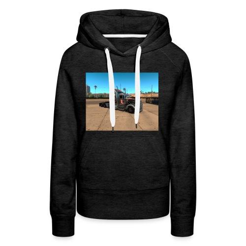 ats - Sweat-shirt à capuche Premium pour femmes