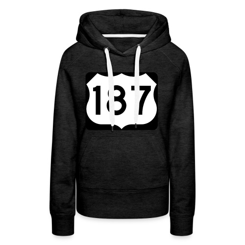 187 - Frauen Premium Hoodie