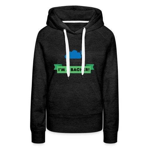 The Things Network Backers - Vrouwen Premium hoodie