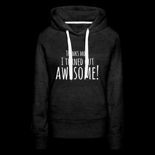 awesome - Vrouwen Premium hoodie