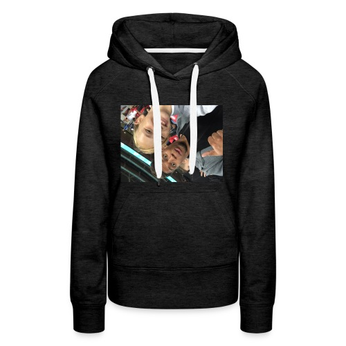 a pic with youtuber - Women's Premium Hoodie