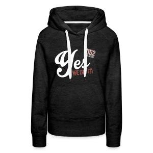 YES-1152.wh - Frauen Premium Hoodie