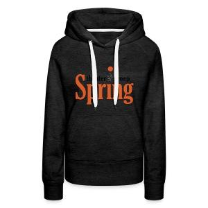 Gymtas met logo van Theatergroep Spring - Vrouwen Premium hoodie