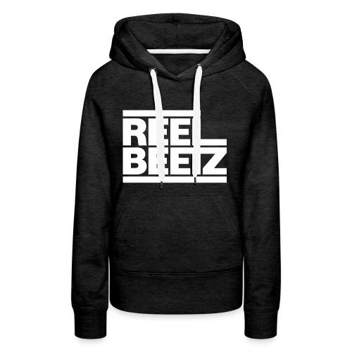 REEL BEETZ Weiss - Frauen Premium Hoodie