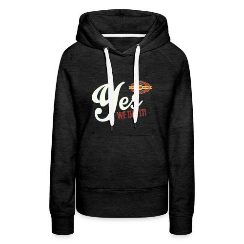 YES-creme-nappo - Frauen Premium Hoodie