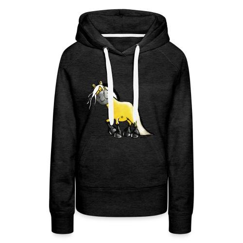 fjord_horse-png - Women's Premium Hoodie