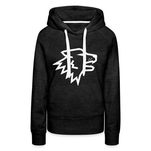 Nitch Wolf Logo - Vrouwen Premium hoodie
