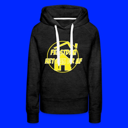 Geel Logo - Vrouwen Premium hoodie