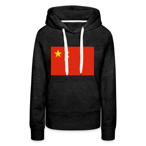 Small Chinese flag - Women's Premium Hoodie