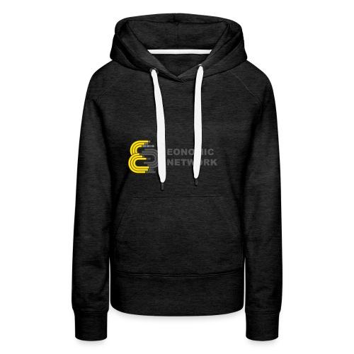 logoaufschrift_grau - Frauen Premium Hoodie