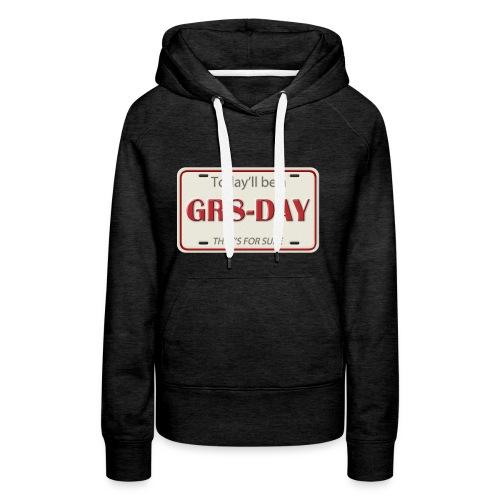 gr8-day - Sudadera con capucha premium para mujer
