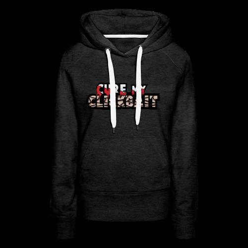 Cure My Clickbait Logo - Women's Premium Hoodie