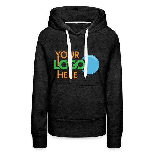 Your Logo Here - Women's Premium Hoodie