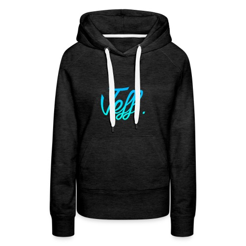 Jeff. Sweater - Vrouwen Premium hoodie