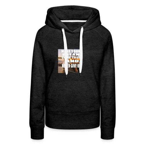 motivate t-shirt - Vrouwen Premium hoodie