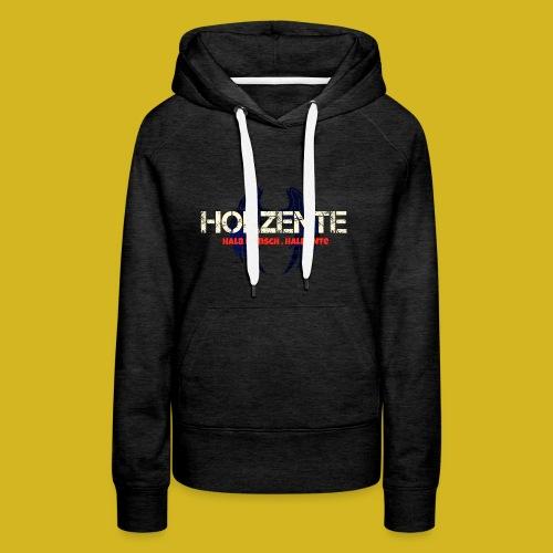 HolzEnte - Frauen Premium Hoodie