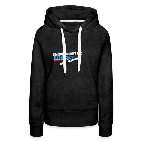 SnowKnightMC_Merch_Logo - Frauen Premium Hoodie