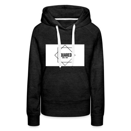 squared - Vrouwen Premium hoodie