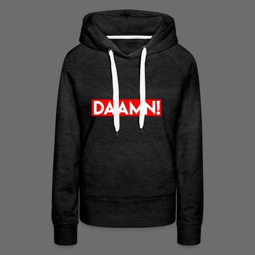 DAAMN Red bar - Frauen Premium Hoodie
