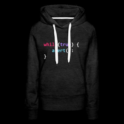 whilte(true) tee - Women's Premium Hoodie