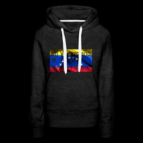 Alfombra De Mouse Un Venezolano En GTA - Sudadera con capucha premium para mujer