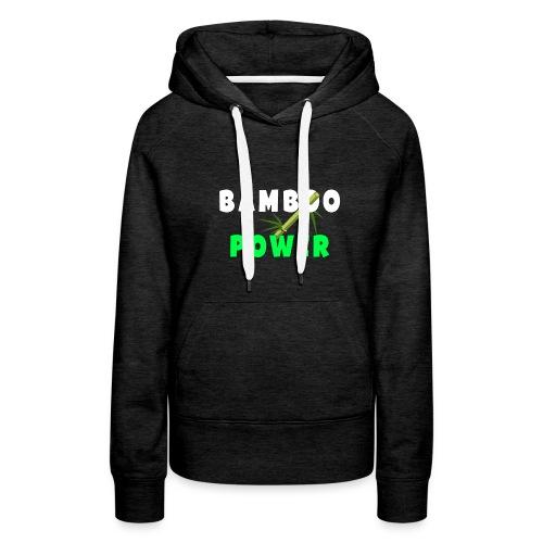 Bamboo Power T-shirt - Vrouwen Premium hoodie