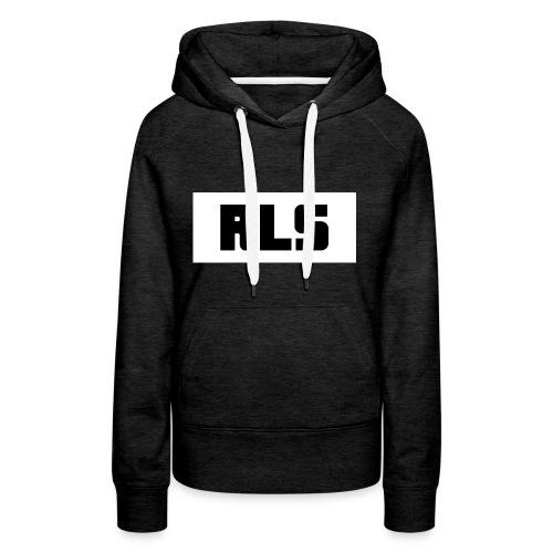 RLS t-shirt Black&White - Vrouwen Premium hoodie