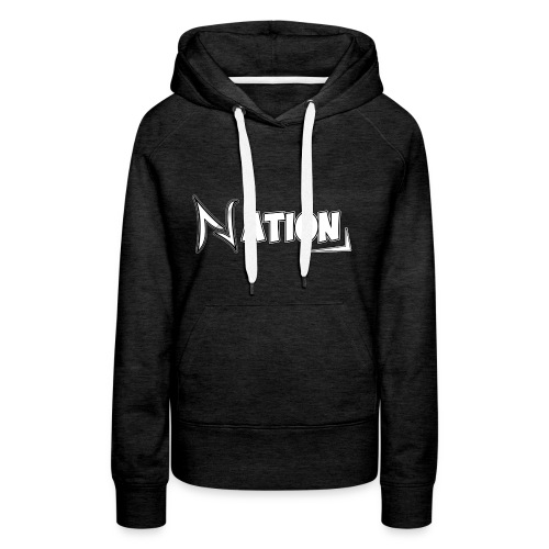 Nation Logo Design - Women's Premium Hoodie